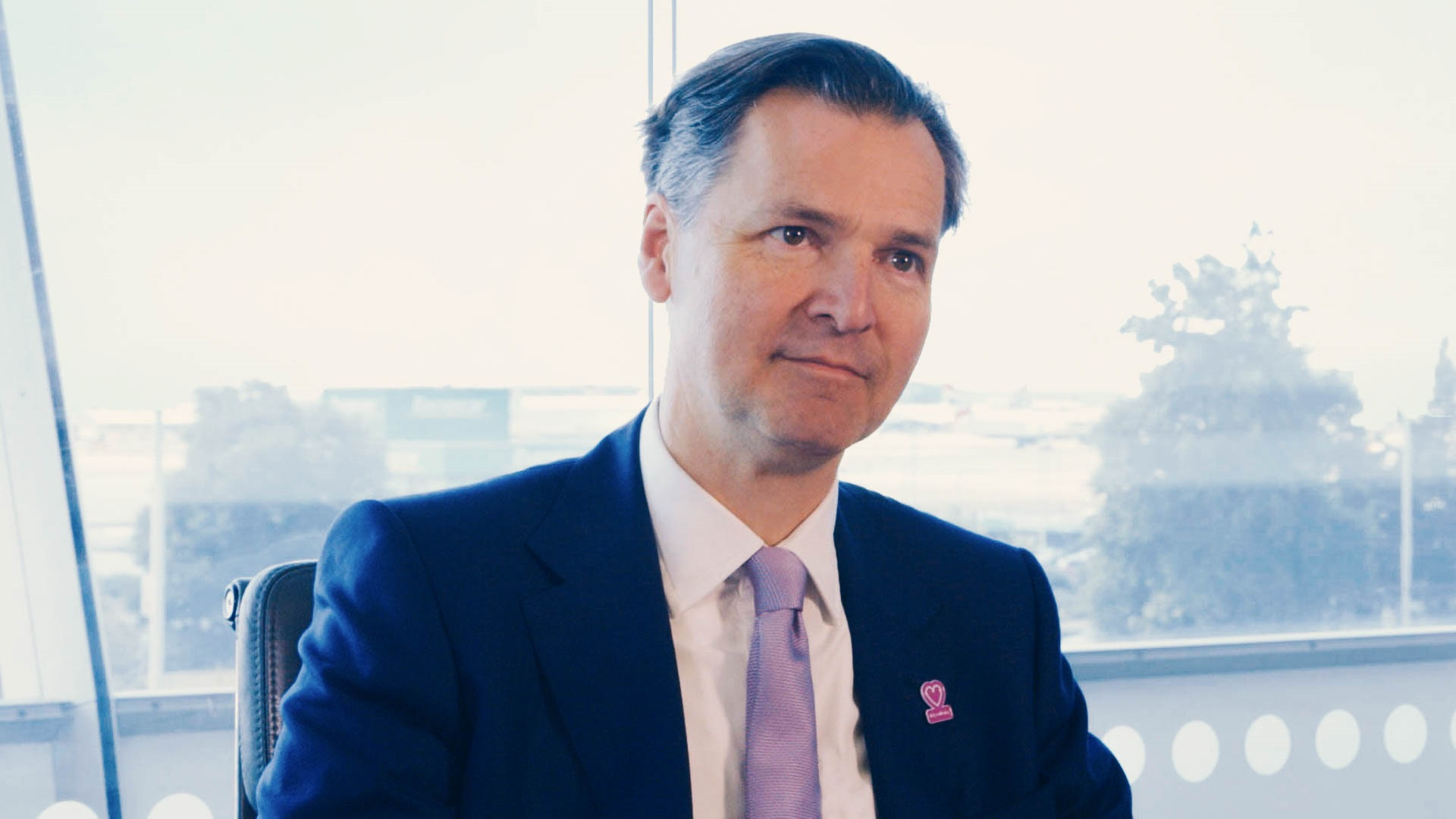 John Holland Kaye, Healthrow CEO interview with Mace